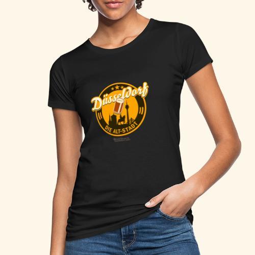 Düsseldorf - Spruch Die Alt-Stadt & Wahrzeichen - Frauen Bio-T-Shirt