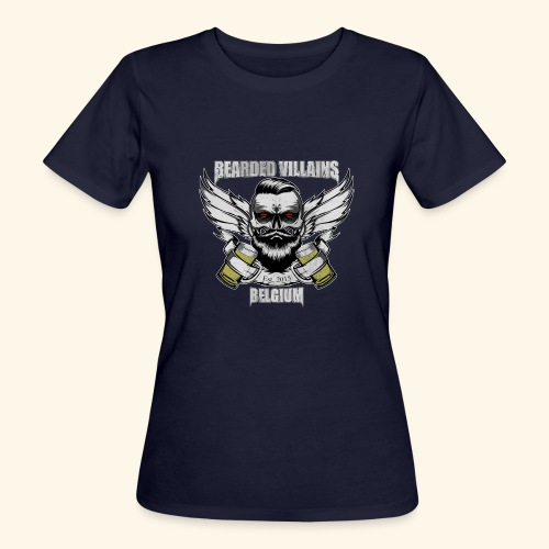 Bearded Villains Belgium - Women's Organic T-Shirt