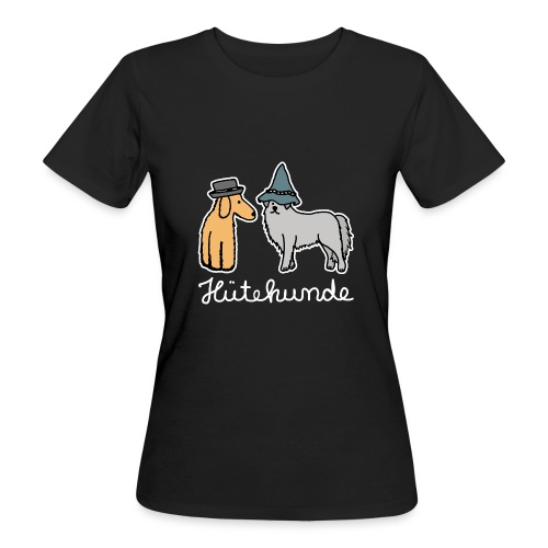 Hütehunde Hunde mit Hut Huetehund - Frauen Bio-T-Shirt