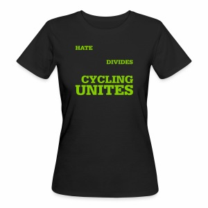 Cycling unites - Frauen Bio-T-Shirt