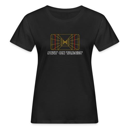 STAY ON TARGET 1977 TARGETING COMPUTER - Naisten luonnonmukainen t-paita