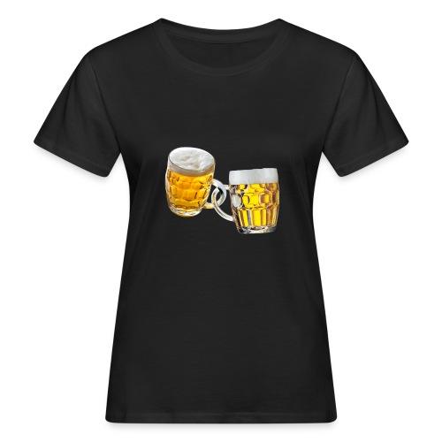 Boccali di birra - T-shirt ecologica da donna