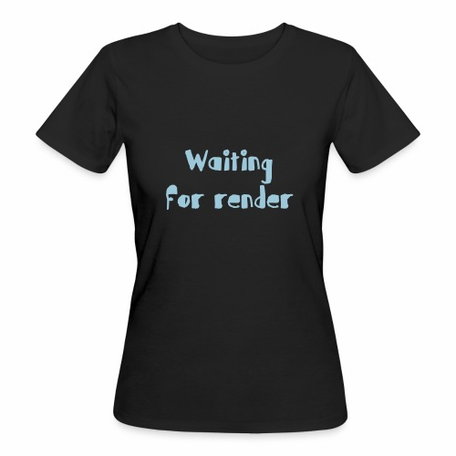 RENDER - Camiseta ecológica mujer