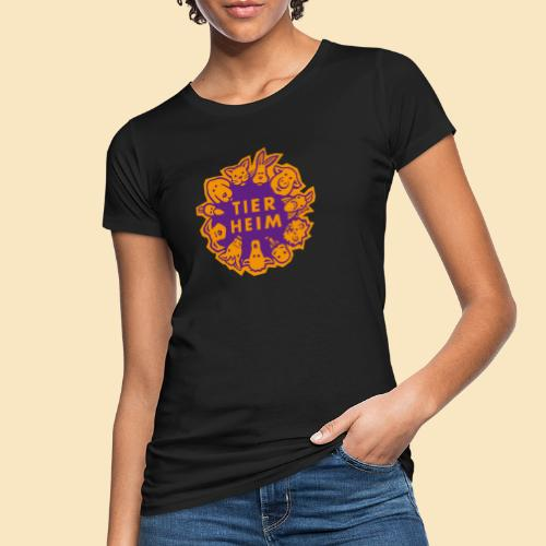 Tierheim Logo orangelila - Frauen Bio-T-Shirt