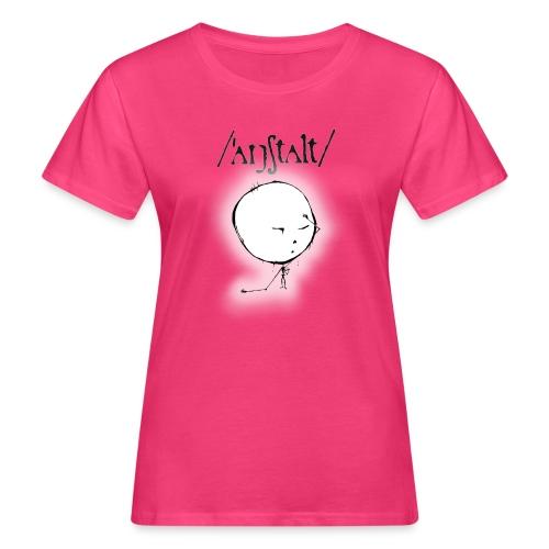 kreisling mit logo (schwarz) - Frauen Bio-T-Shirt