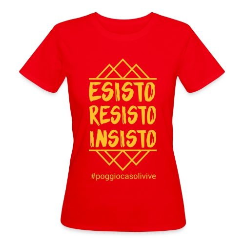 patch resisto - T-shirt ecologica da donna
