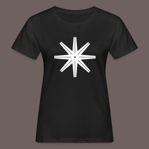 GBIGBO zjebeezjeboo - Rock - Octastar Blanc - T-shirt bio Femme