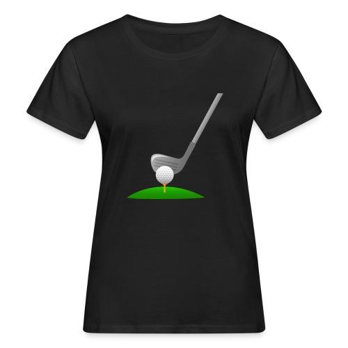 Golf Ball PNG - Camiseta ecológica mujer