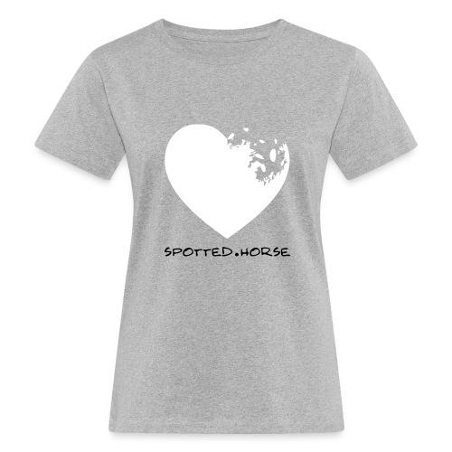 Cuore Appaloosa (bianco/rosso) - T-shirt ecologica da donna