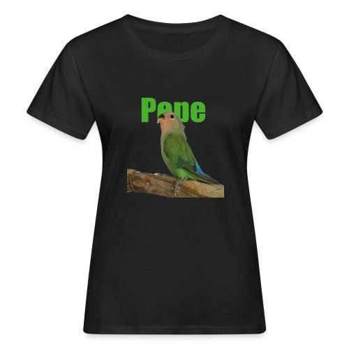Pepe - Naisten luonnonmukainen t-paita