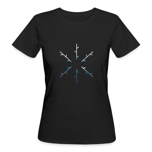 SNOW - T-shirt ecologica da donna