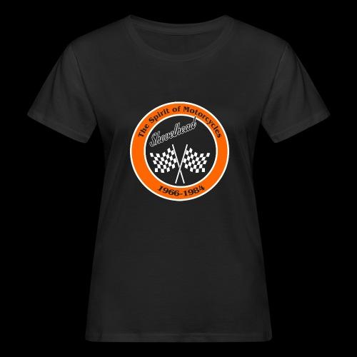 Zielflagge Shovelheat - Frauen Bio-T-Shirt