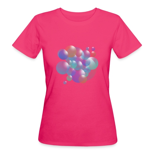 bubble - Frauen Bio-T-Shirt