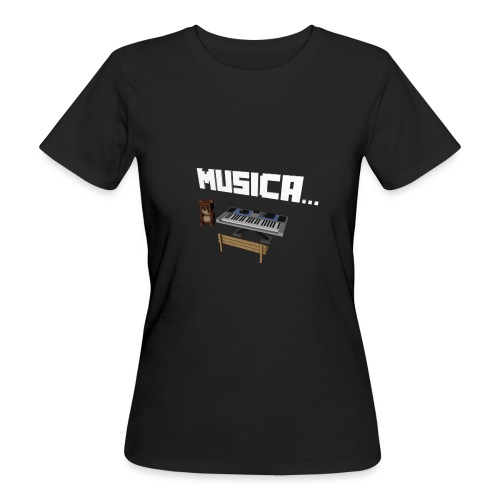 Tedy's Piano - Camiseta ecológica mujer