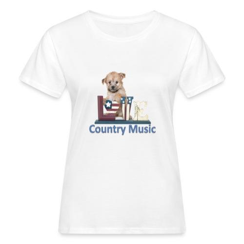 countrydog-png - T-shirt ecologica da donna