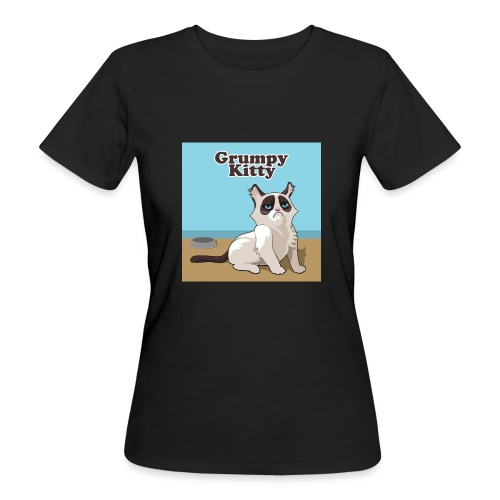 Grumpy Kitty - Vrouwen Bio-T-shirt