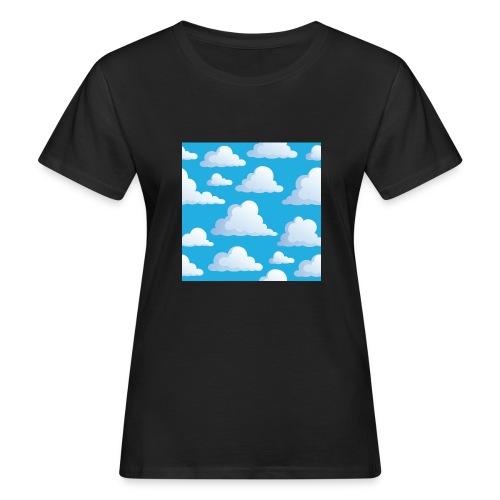 Cartoon_Clouds - Women's Organic T-Shirt