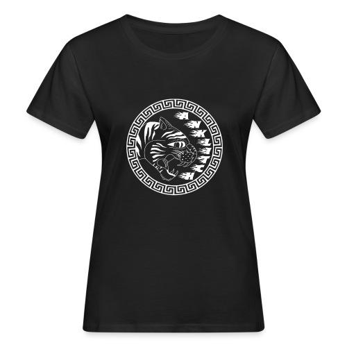 Anklitch Logo wit - Vrouwen Bio-T-shirt