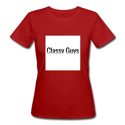 Classy Guys Simple Name - Women's Organic T-Shirt