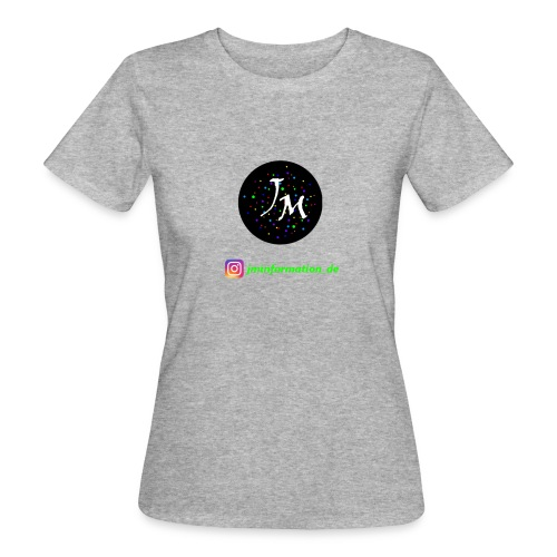 jminformation-Logo - Frauen Bio-T-Shirt