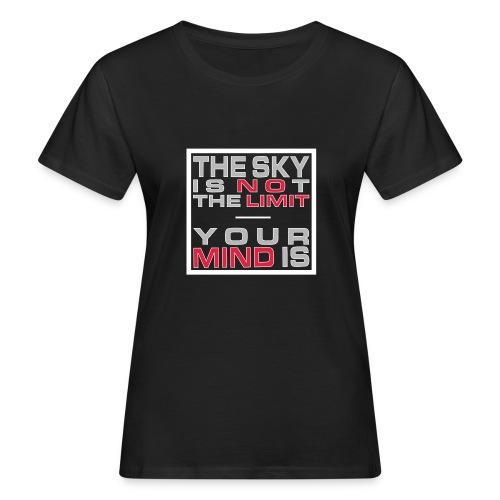 No Limit Mind - Frauen Bio-T-Shirt