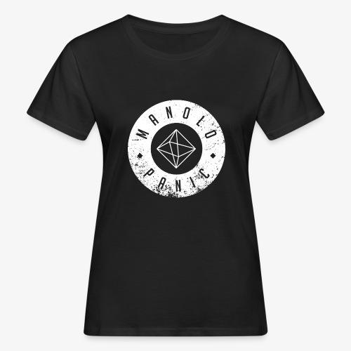 Manolo Panic Logo, breit - Frauen Bio-T-Shirt