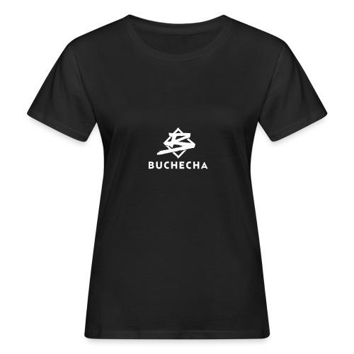 Logo White Basic - Camiseta ecológica mujer