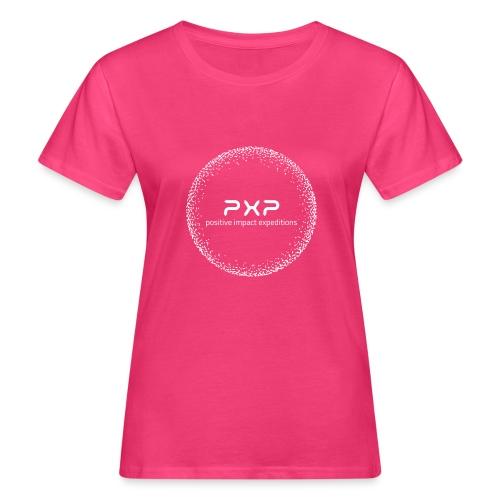 white logo transparent 2x - Women's Organic T-Shirt
