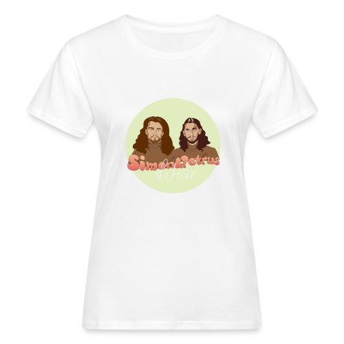 Simon och Petrus fikar - Ekologisk T-shirt dam