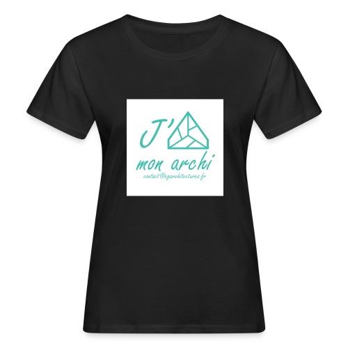 J aime mon archi - T-shirt bio Femme
