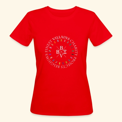 BVBE Charity Projects x factor white Charlemagne T - Women's Organic T-Shirt