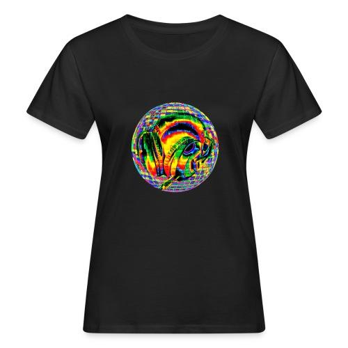 Casque à facettes - T-shirt bio Femme