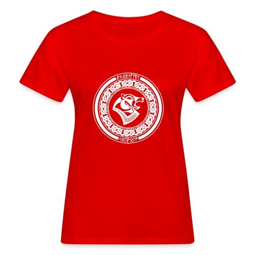 BjörnfellRisingWhite - Naisten luonnonmukainen t-paita