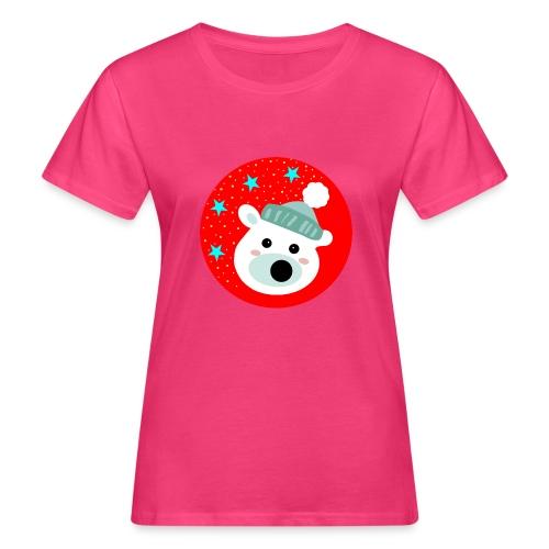 Winter bear - Women's Organic T-Shirt