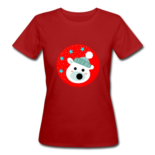 Winter bear - Women's Organic T-Shirt