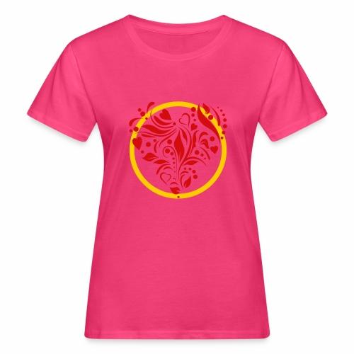 Herzemblem - Frauen Bio-T-Shirt