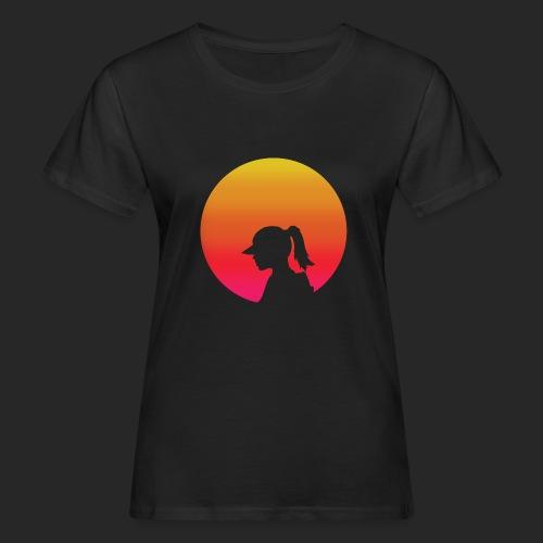 Gradient Girl - Women's Organic T-Shirt