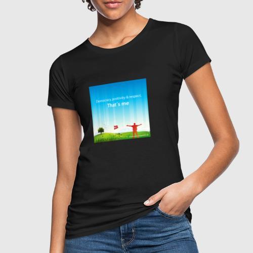 Rolling hills tshirt - Organic damer