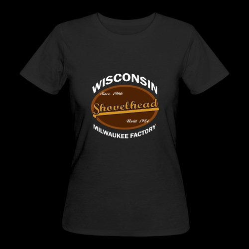 Milwaukee Shovelhead - Frauen Bio-T-Shirt