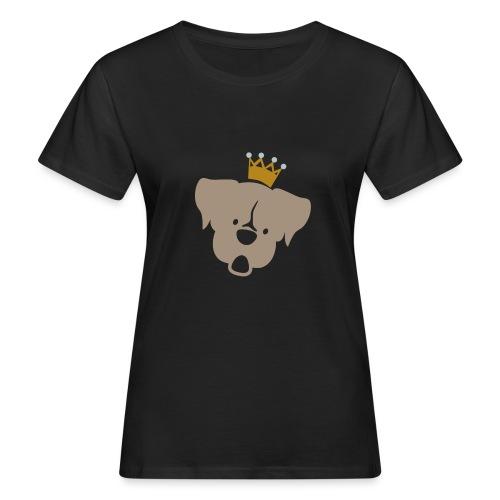Prinz Poldi braun - Frauen Bio-T-Shirt