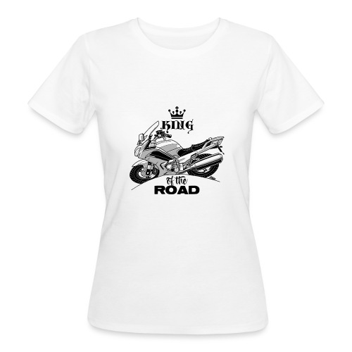 0884 FJR KING of the ROAD - Vrouwen Bio-T-shirt