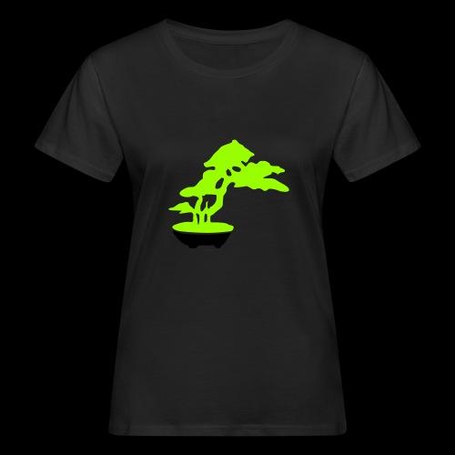 bonsai_baum_2 - Frauen Bio-T-Shirt