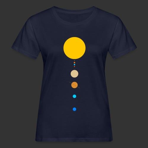 Solar System - Women's Organic T-Shirt