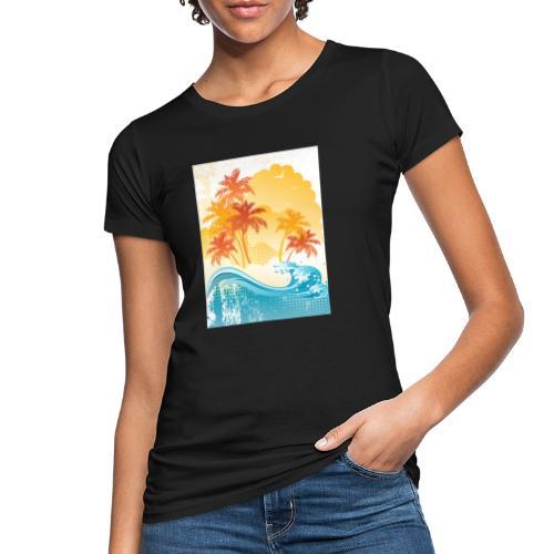 Palm Beach - Women's Organic T-Shirt
