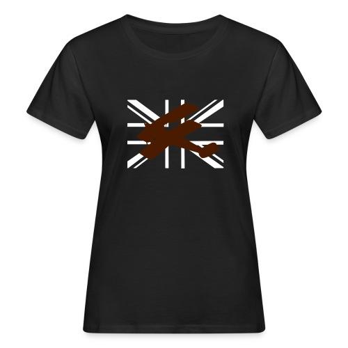 ukflagsmlWhite - Women's Organic T-Shirt
