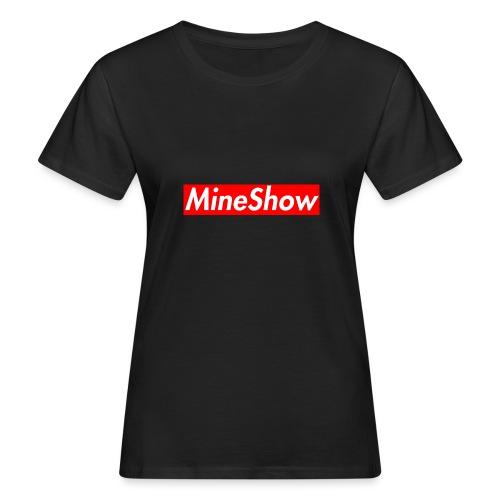 MineShow Box-Logo - Frauen Bio-T-Shirt
