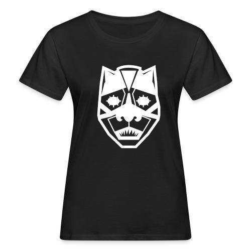 Mask White - T-shirt ecologica da donna