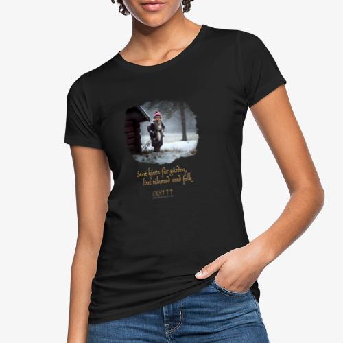 Gårdstomte - Ekologisk T-shirt dam