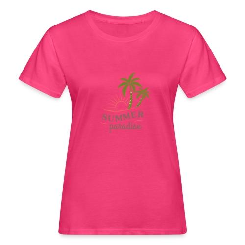 Summer paradise - Women's Organic T-Shirt