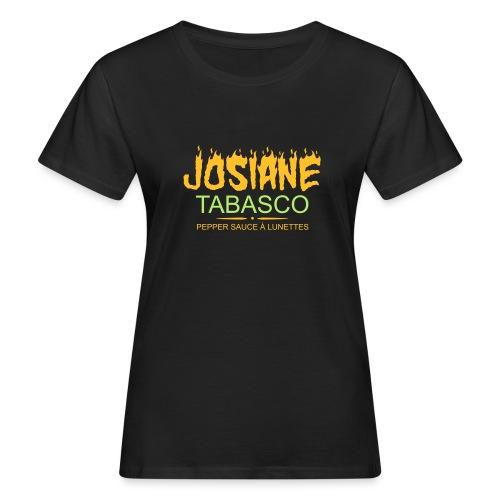 josiane tabasco - T-shirt bio Femme